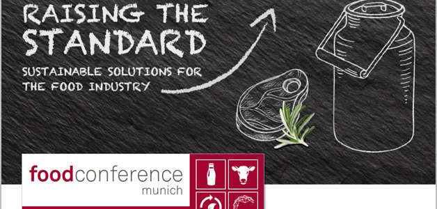 Save the date: food conference munich 2017